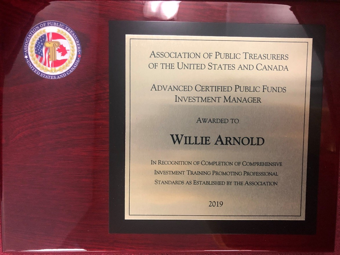 Advanced Certified Public Funds Investment Manager Certification