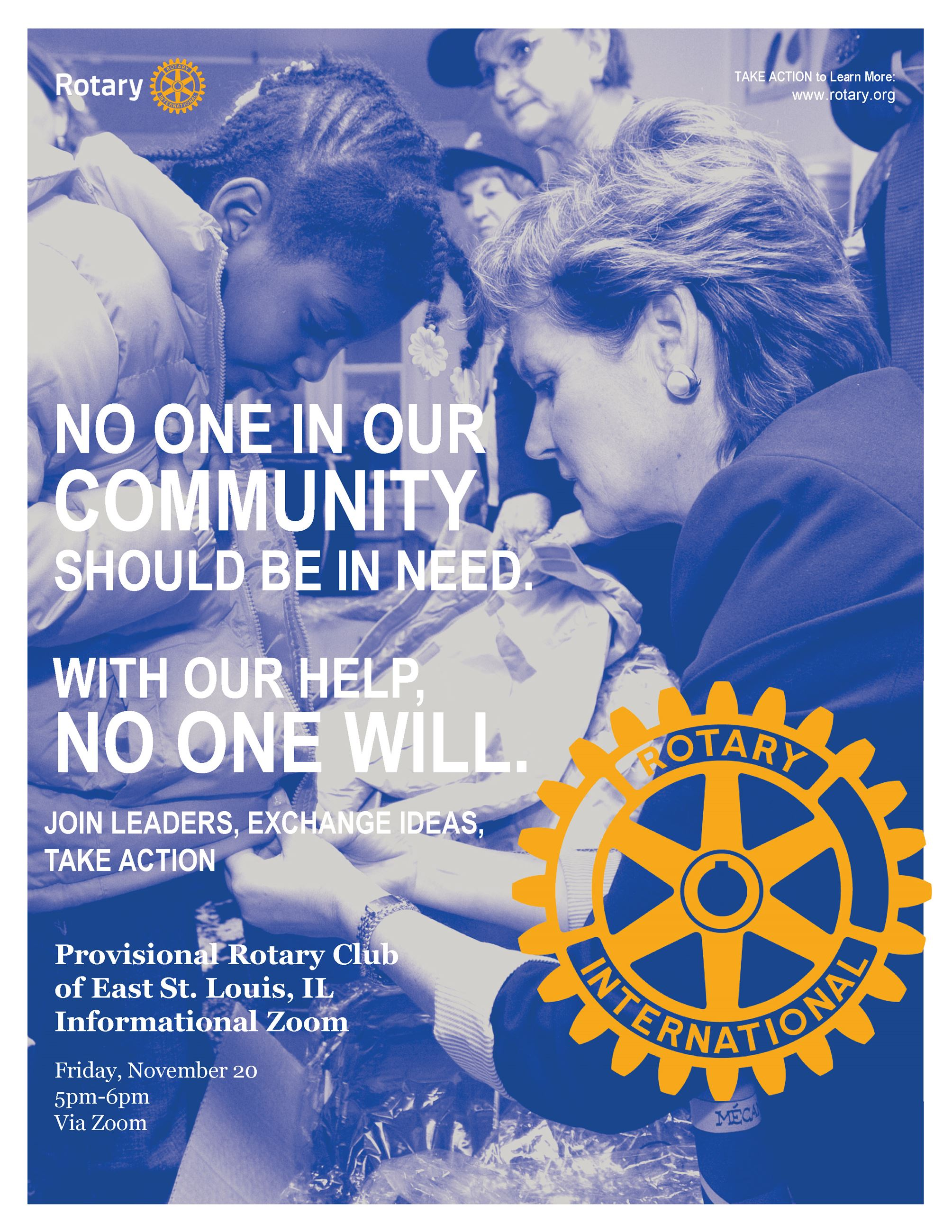 East St Louis Rotary Flyer Opens in new window